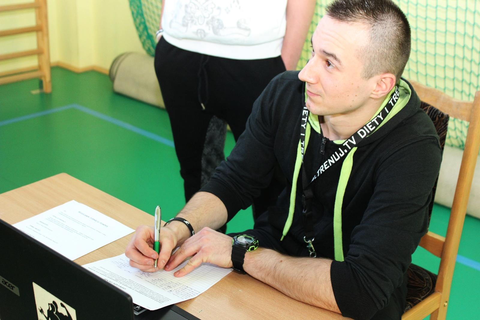 trener Dawid Kowalczyk